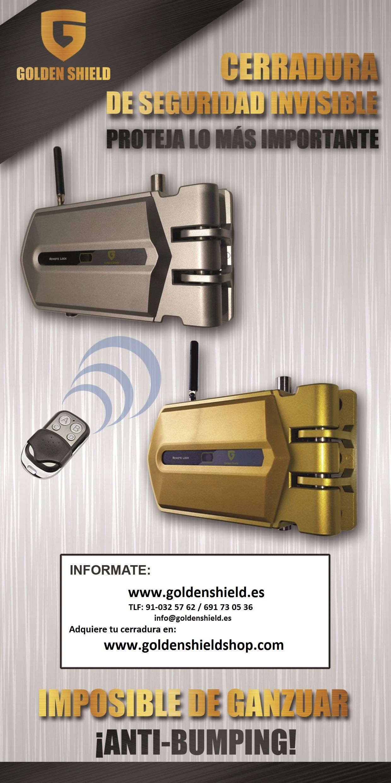 Golden shield cerraduras de seguridad invisibles en valencia for Cerraduras de seguridad invisibles