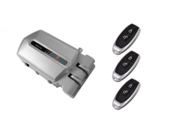 Cerradura invisible inteligente con alarma